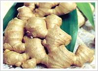 Fresh Ginger With Dry Skin